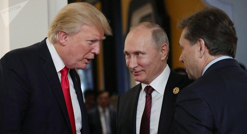 """CIA前局长称特朗普""""惧怕""""普京  俄回应:普京效应又被利用"""