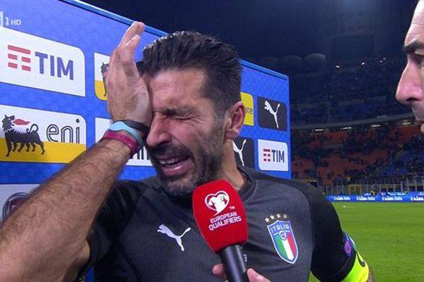 59年后意大利首次无缘世界杯 布冯潸然泪下