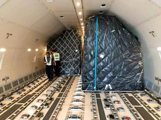 双11出口包机陆续起飞 菜鸟加速全球72小时可达