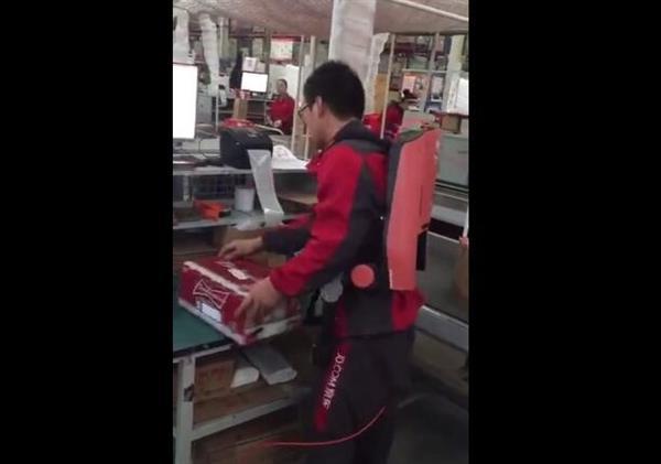 京东外骨骼机器人曝光 专为物流人员研发