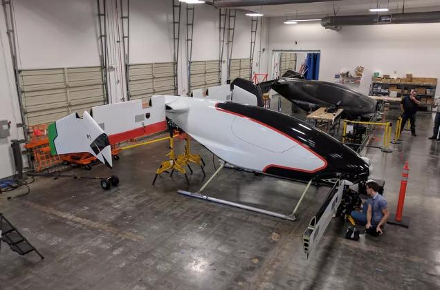 空客将于2017年底测试其Vahana电动飞行汽车
