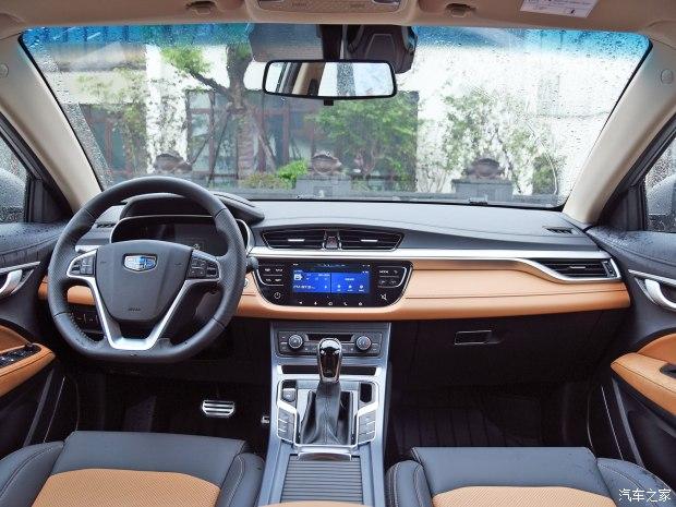 吉利汽车 吉利S1 2017款 1.4T CVT基本型