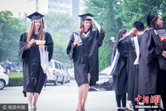 中国大陆学生在美高校就读人数突破35万