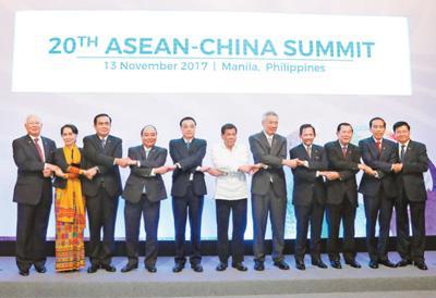 李克强出席第二十次中国—东盟领导人会议