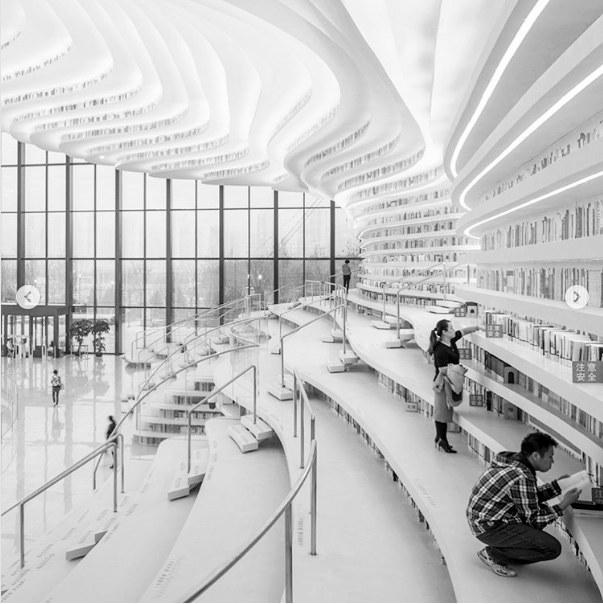 法媒:阅读、攀爬和会谈——中国建成世界最美图书馆
