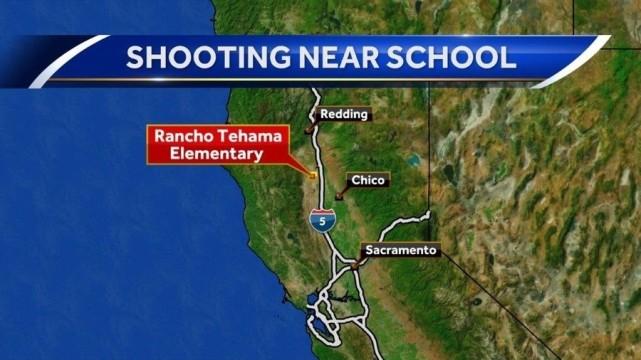 美国加州一小学及多处发生枪击案 包括枪手在内至少5人死亡
