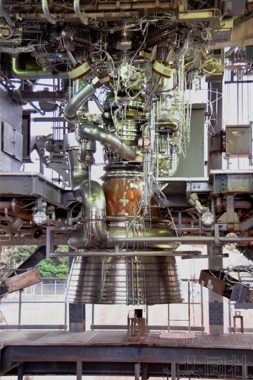 日本H3新型火箭引擎亮相 零部件减两成推力增强