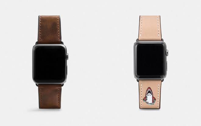 COACH发布四个新款秋季Apple Watch表带设计