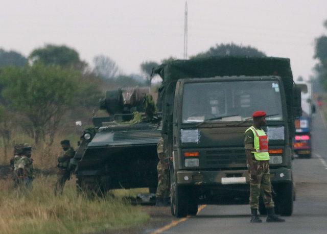 津巴布韦首都爆炸:士兵占领电台 执政党指责叛国