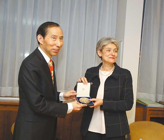 中国国际文化传播中心与联合国教科文组织开启全面合作