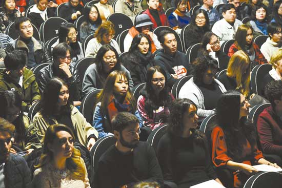佛罗伦萨意语学院为中国学生举行开学典礼
