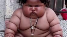 印度8个月大女婴 体重达35斤食量和4岁儿童相当