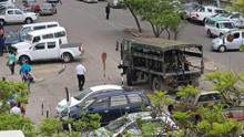 现场:政变!津巴布韦军方开坦克进首都 总统被扣留