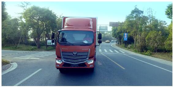 智能卡车服务智慧物流 福田汽车领航智慧物流新未来
