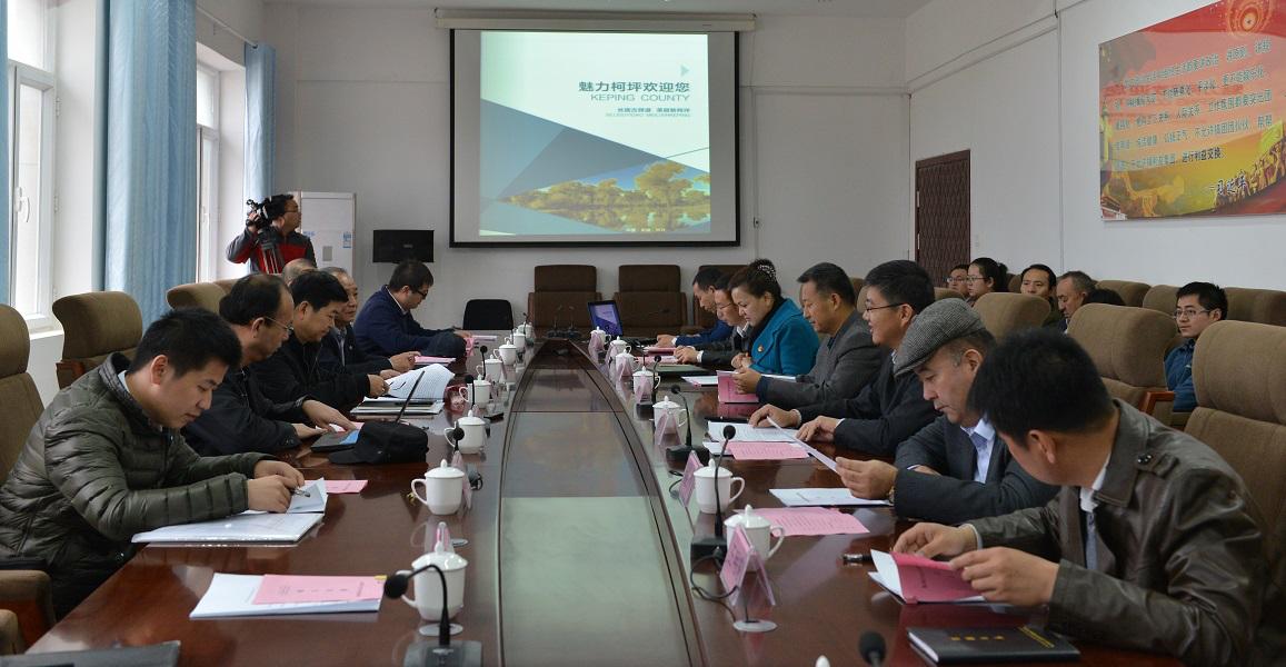 东风公司领导赴柯坪调研 援疆扶贫工作