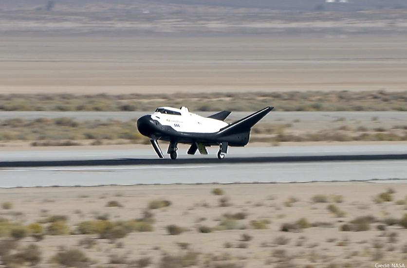 太空旅行将成现实?美自动驾驶航天飞机完成试飞
