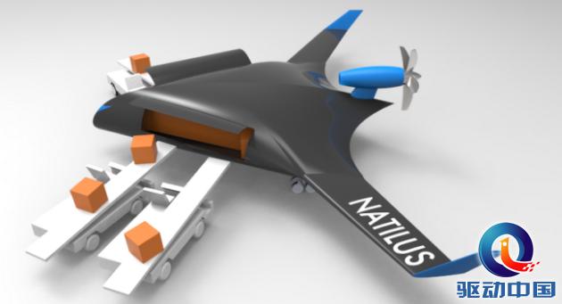 无人机货运公司Natilus获投 90吨载重无人机还会远吗?