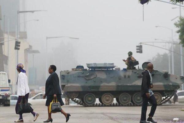 津巴布韦首都局势趋于平静 军方否认政变