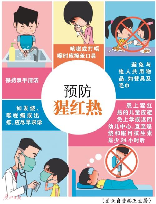 港预警猩红热 广东进入流行高峰期