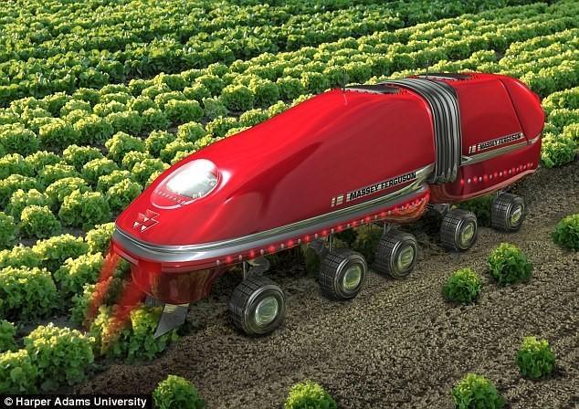 机器人农民来了 预计最早2020就会投入使用