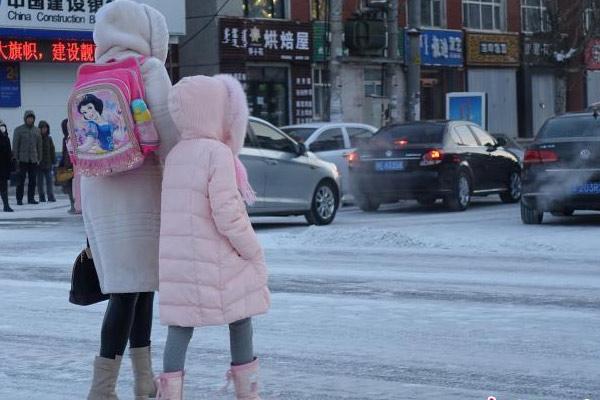 呼伦贝尔最低气温-35.3℃ 创入冬以来新低