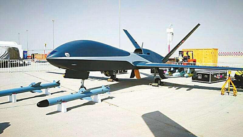 三款国产无人机 亮相迪拜航展