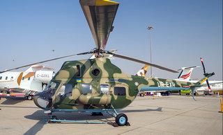 迪拜航展上这款直升机非常萌