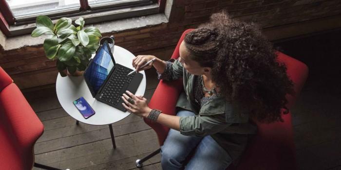 10.5英寸iPad Pro专用保护套: 配背光键盘