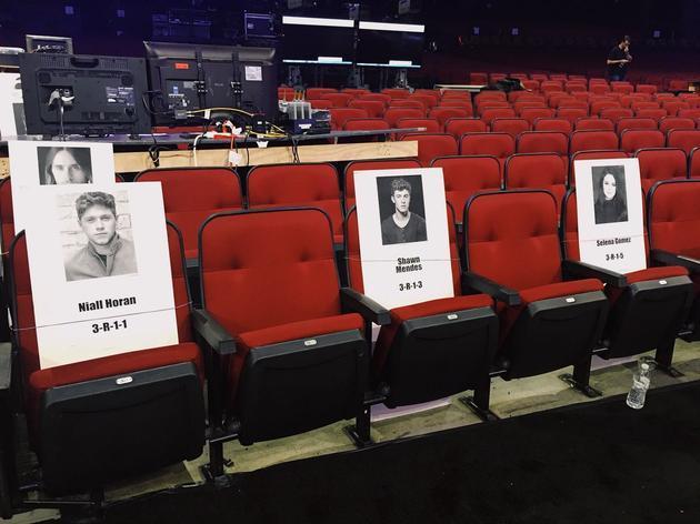 比伯赛琳娜全美音乐奖或将排排座 与各自旧爱相邻