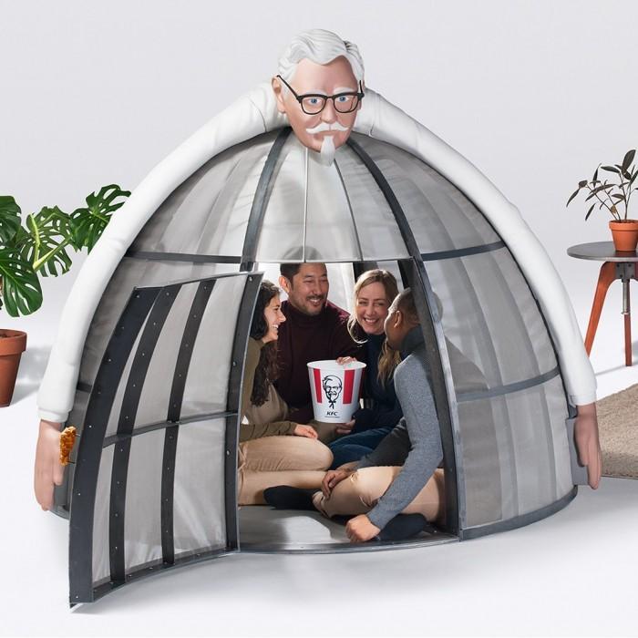 肯德基推互联网逃生舱:安心享用全家桶