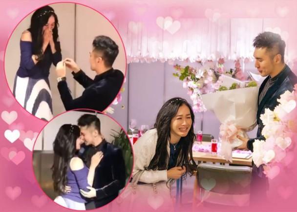 钟丽缇结婚周年派对曝隐藏片段 张伦硕现场变魔术