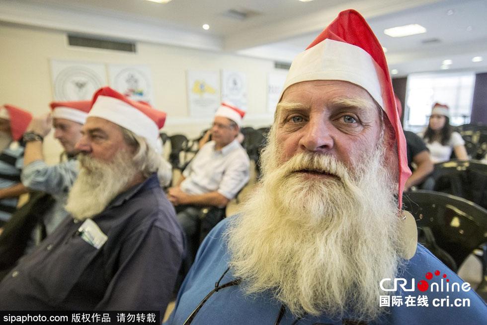 圣诞节将至 巴西圣诞老人学校开课