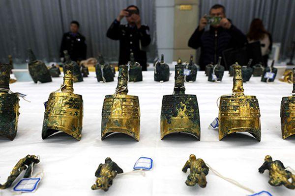 陕西侦破盗掘西汉古墓案 追回被盗文物千余件