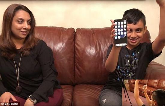 10岁男孩骗过Face ID,成功解锁母亲的iPhone X