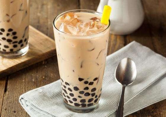 网售奶茶原料难辨真伪