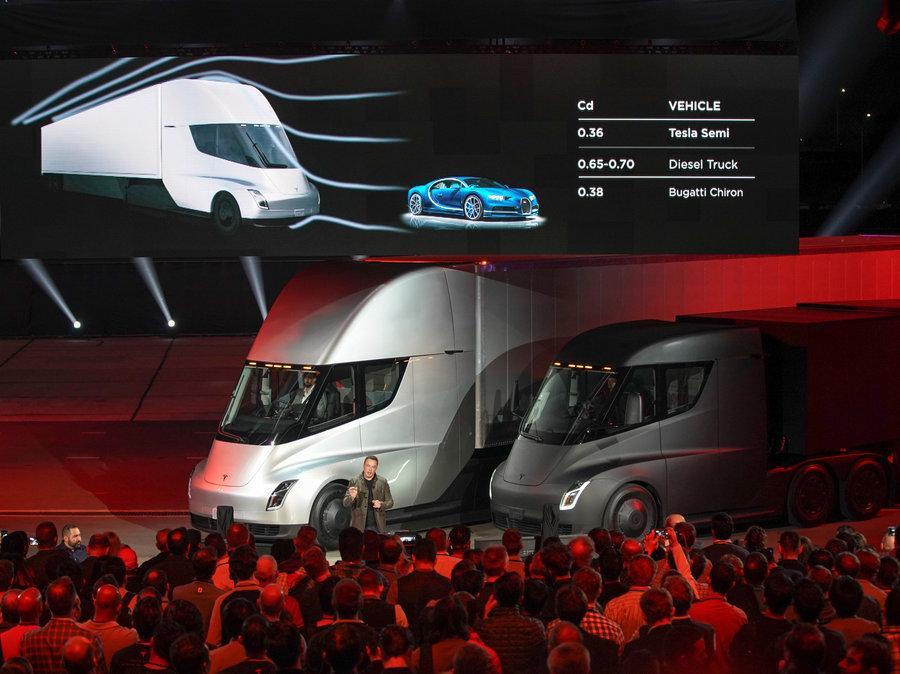 颠覆柴油车和铁路 特斯拉纯电动卡车获多份订单