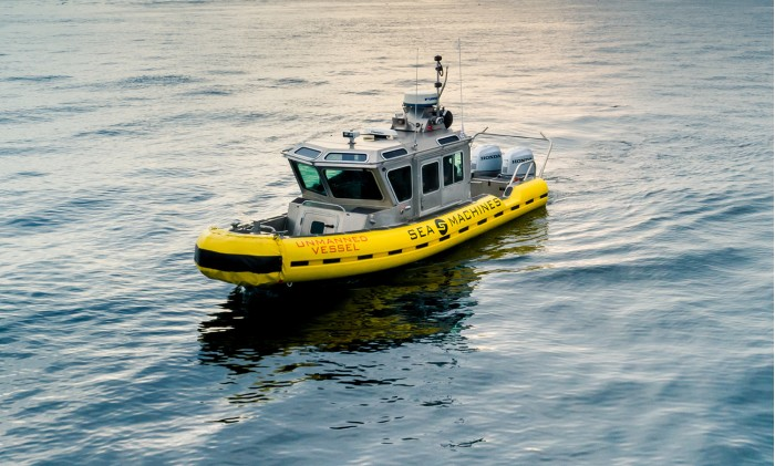 美初创公司为海面带来自动驾驶技术