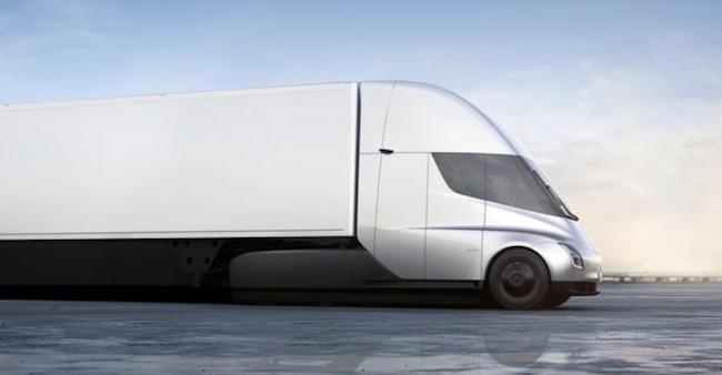 特斯拉电动卡车发布一天内 沃尔玛就订了15辆