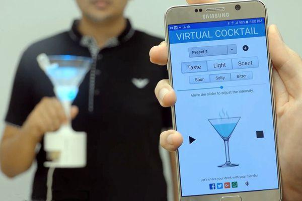 喝一杯虚拟鸡尾酒?没有什么是手机APP办不到的