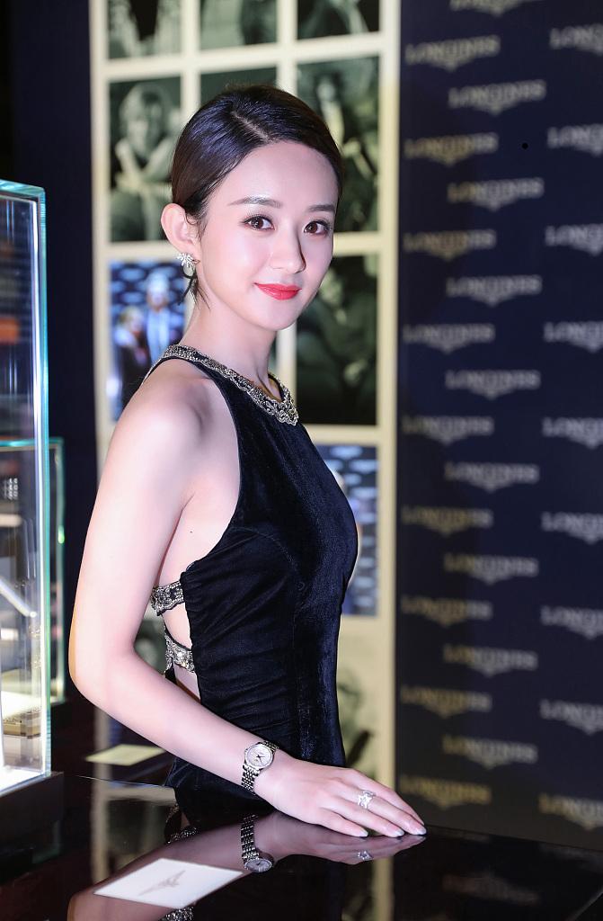 赵丽颖成为品牌优雅大使 化身知性女神