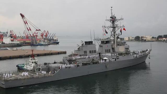 魔咒再现美军舰今年第五撞 事故主角曾访问中国
