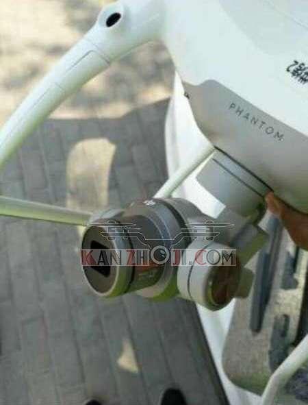疑似DJI 大疆创新 Phantom5 可换镜头精灵5 谍照