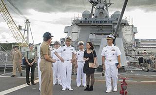 中国海空军访问美太平洋司令部