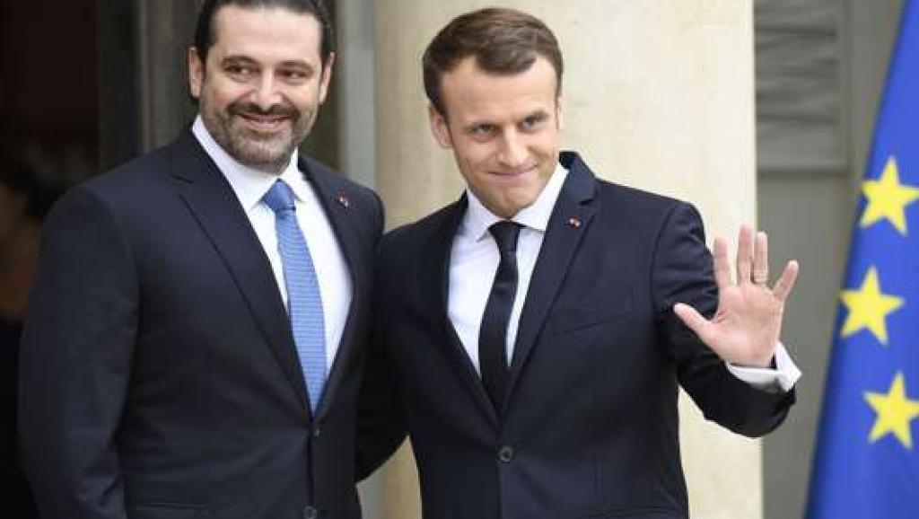黎巴嫩前总理哈里里访法 称将于独立日重返故土