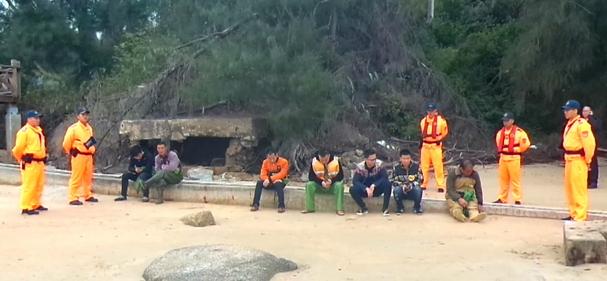 大陆渔船金门海域翻覆 失踪船员家属驾船寻人遭捕