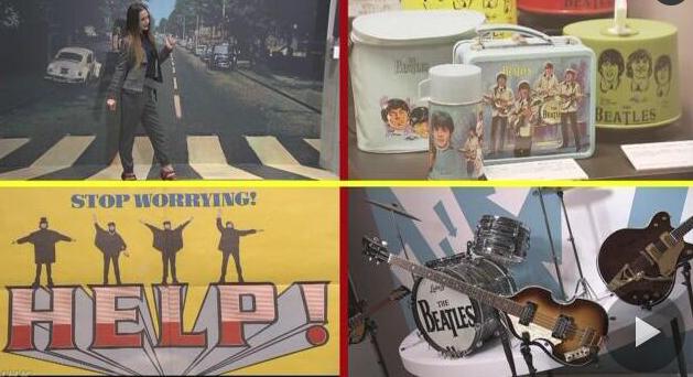 格莱美博物馆首次在日本举办披头士展览会