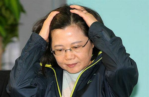台民调:蔡英文满意度跌破三成 赖清德大跌13%