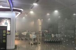 台湾桃园机场又出事!现场烟雾滚滚