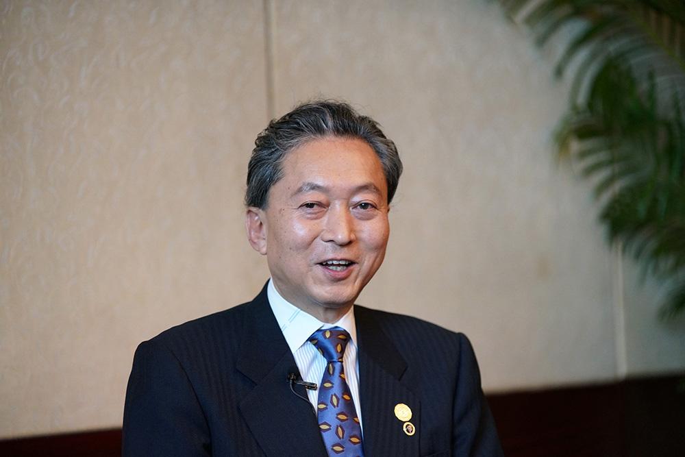 专访日本前首相鸠山由纪夫:喜欢粤菜,称广州发展速度令人吃惊