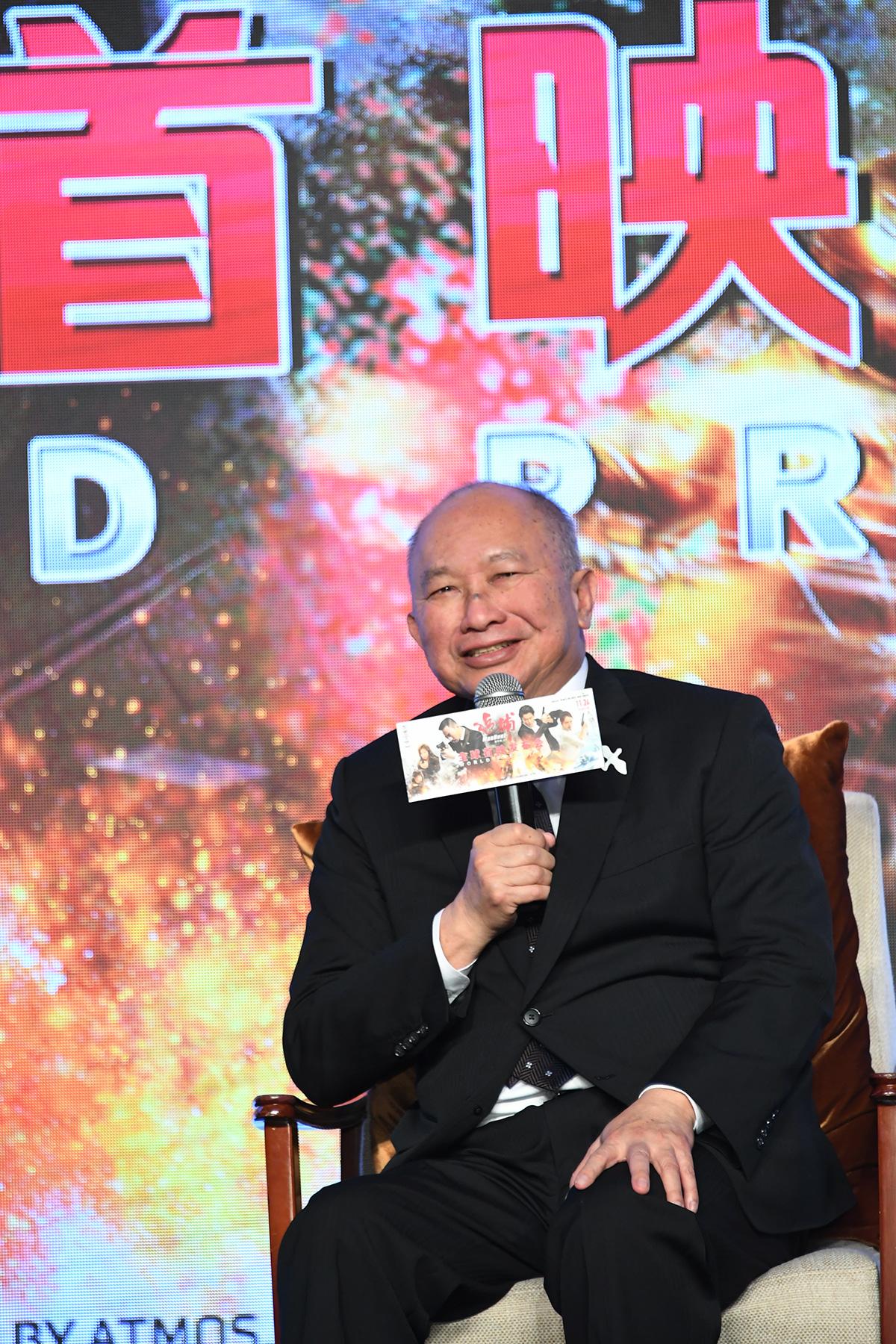 吴宇森《追捕》首映 打出最爽枪战片